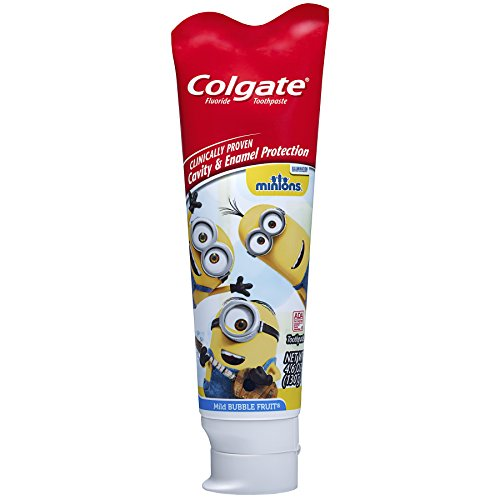 Colgate Kids Minions Toothpaste Ounce