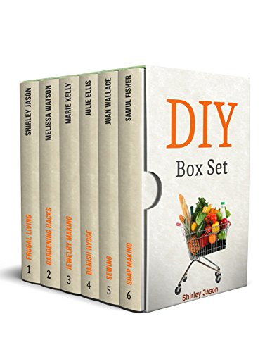 DIY Box Set: Outstanding Crafts Guides on Jewelry Making, Sewing, Soap Making and Gardening by [Jason, Shirley, Watson, Melissa, Kelly, Marie, Ellis, Julie, Wallace, Juan, Fisher, Samul]