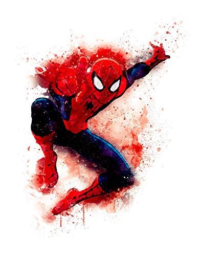 Spiderman - Art Prints 11 x 14 Unframed Print - Art Wall Decor for Super Hero Fans & Collectors- Office - Den, Dorm Room