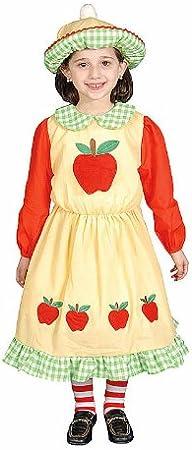 Dress Up America Disfraz de Manzana en diseño: Amazon.es ...