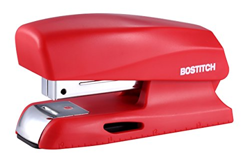 Bostitch Office 20 Sheet Stapler, Small Stapler Size, Fits into the Palm of Your Hand; Red (B150-Red) ()
