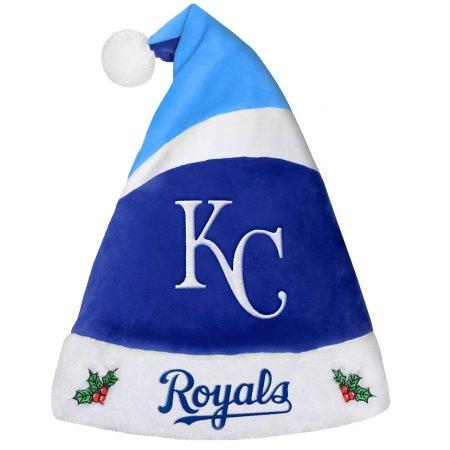 Forever Collectibles 9016345508 Kansas City Royals Basic Santa Hat - 2016