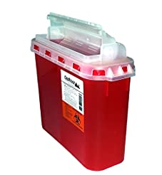 BD 5.4 Qt Sharps Disposal Container | Oa...