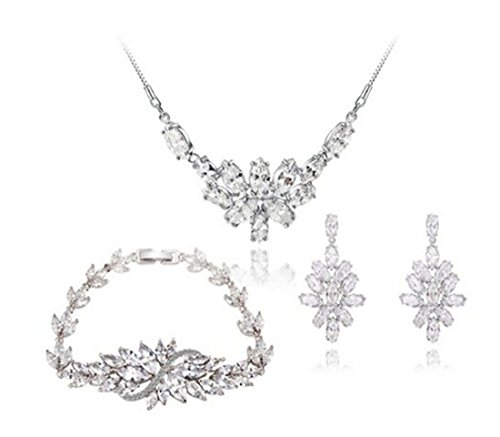 AROUND 101 Jewelry Fashion Womens Platinum Plated Ice for sale  Delivered anywhere in USA