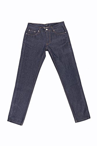 Japanese Selvedge Denim | Slim Mid Rise | FRANKLIN by JOHN ADDISON JEANS | Hand-Made in Canada | 100% Organic Cotton | Nickel Buttons and Rivets | Button Fly | RAW Denim | Indigo | 5 Pocket Jeans