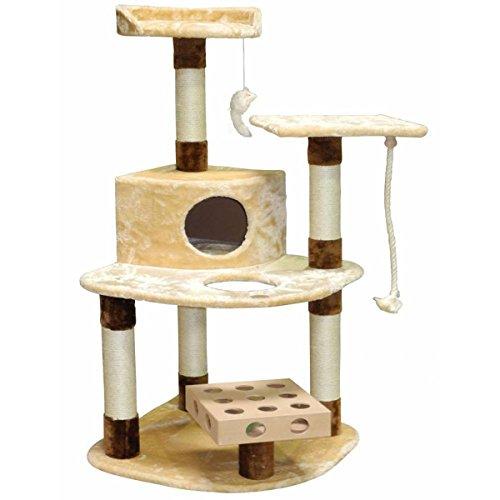 GoPetClub IQ Busy Box 48-inch Cat Tree