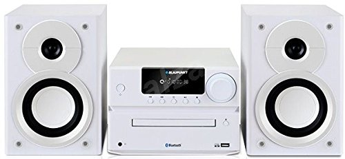 Blaupunkt MS35BT Home Audio Mini System 40W Blanco - Microcadena (Home Audio Mini System, Blanco, 1 Discos, Frente, 40 W, De 2 vías)