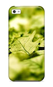 Iphone Case - Tpu Case Protective For Iphone 5c- Leaf