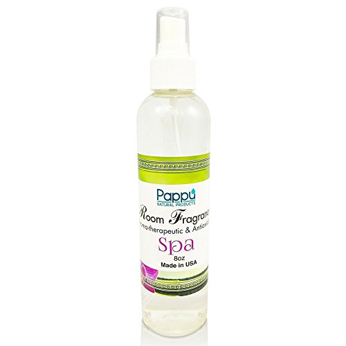Spa Room and Linen Spray Made with Natural Pure Cormint & Eucalyptus Essential Oil 8Oz Pillow Mist Home Air Freshener Odor Eliminator Refreshing Aroma Relax mind & body Aromatherapy Scents Pappu