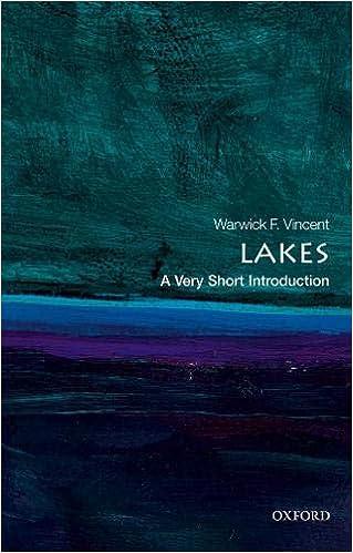 Lakes: A Very Short Introduction por Warwick F. Vincent epub