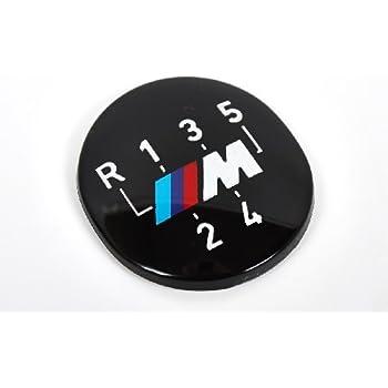 Genuine BMW E30 E34 E36 5-Speed Shift Gear Knob Badge Emblem OEM 25111222282