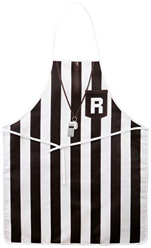 Referee Fabric Novelty Apron (polyester) Party Accessory  (1 count) (1/Pkg)