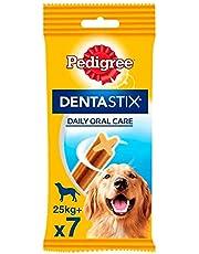 70 Pezzi totali - Pedigree Dentastix Snack per la Igiene Orale - 7 Confezioni da 10 Pezzi