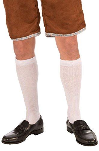 Male Knee Socks Costume (Top Gun Male Officer Costume)