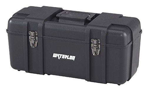 Waterloo Portable Series Tool Box made with Lightweight Industrial-Strength Plastic, 20