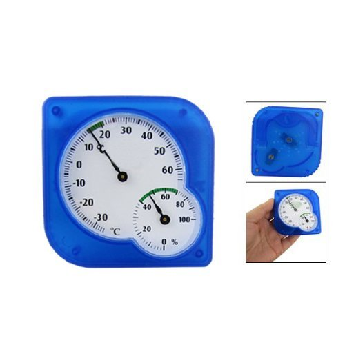 Amico Temperature Measuring Blue Thermometer Humidity Hygrometer