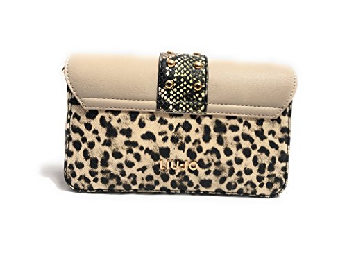 BORSA DONNA LIU-JO TRACOLLA CROSS BODY S MELROSE ECOPELLE MACULA/ MULTICOLOR BS18LJ54