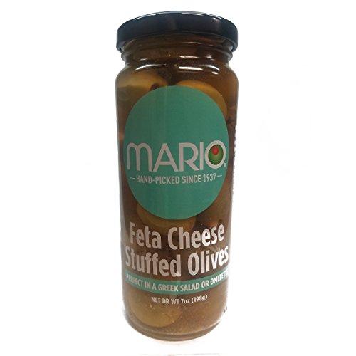 (Mario Camacho Foods Stuffed Olives, Feta Cheese, 7 Ounce)