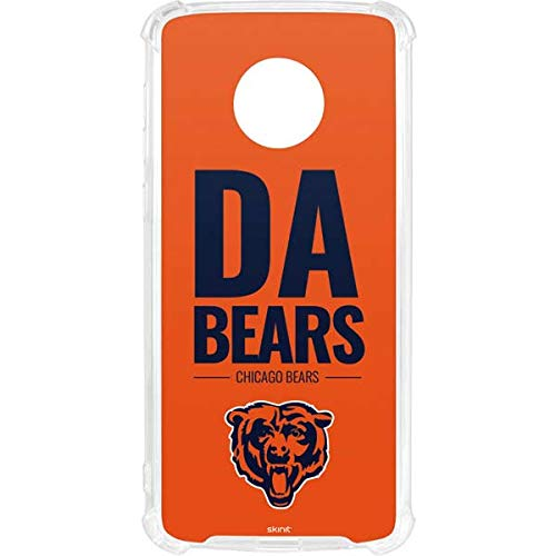 Skinit Chicago Bears Team Motto Moto G6 Clear Case - NFL - Skinit Clear Case - Transparent Moto G6 Cover