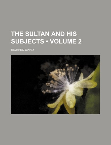 the sultan and his subjects 感想 richard davey 読書メーター