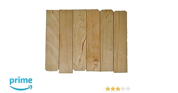6 Jumbo Wooden Craft Sticks Pack of 100ct