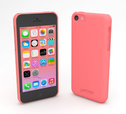 devicewear-metro-ultra-light-weight-hard-shell-soft-texture-case-for-iphone-5c-retail-packaging-pink