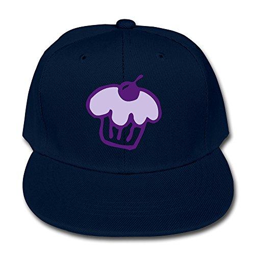 (Boy's Cupcake2 Flat Billed Baseball Cap Navy)