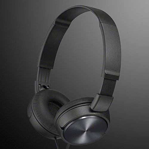 ERJI Circumaural Headphones Bass Music for Boys and Girls Mobile Computer Universal (Black)