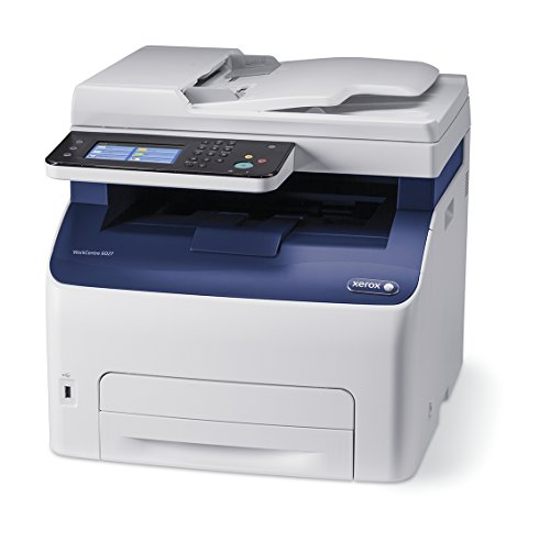 Xerox WorkCentre 6027/NI Wireless Color Multifunction Printer (Workcentre 6027 Color Led All In One Printer)