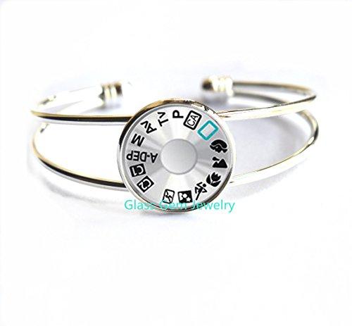 Camera Lens Bracelets Bracelet Camera Lens Black Retro Bracelet Women Jewelry Bijoux Photographers Unique Gift,Q0256