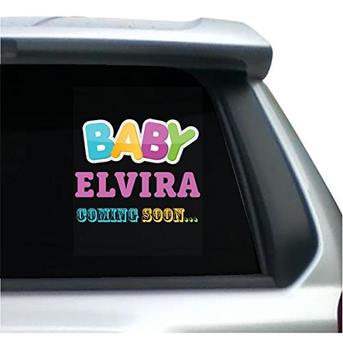 Baby Elvira Coming Soon Funny Mom - (Elvira Birthday)