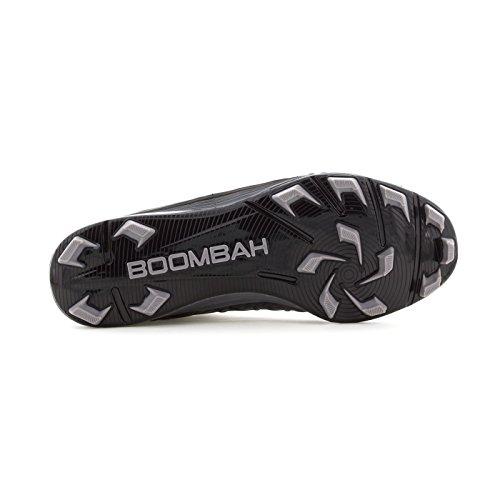 Boombah Mens Skvadron Gjutna Mitten Knapar - 15 Färgalternativ - Flera Storlekar Svart