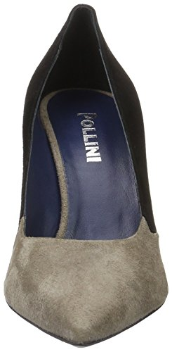 Pollini Pollini Shoes, Zapatos de Tacón, Mujer Beige (Beige + black 20A)