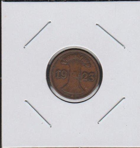 1923 DE Wheat Sheafs Divides Date Penny Fine