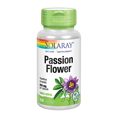 Solaray, Passion Flower 350mg, 100 Capsules