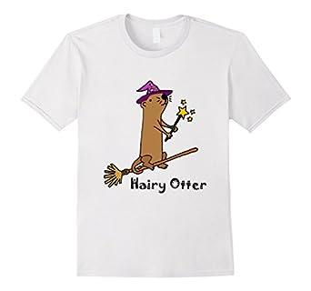 Hairy otter t shirt