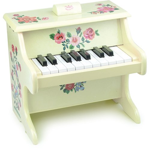 Vilac Nathalie Lete Piano Musical Toy with Scores