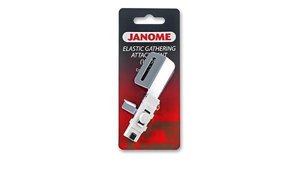 Janome elástica-Kräuselzubehör para cover Pro 2000, 1000 CPX cover Lock: Amazon.es