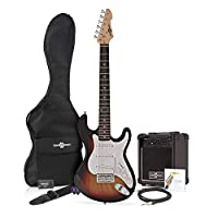 3/4 LA Electric Guitar + Amp Pack Sunburst