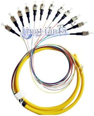12 Core SC 1.5M Single Pigtail Fiber Optic Pigtai Free Shipping