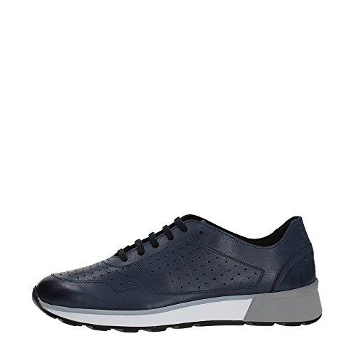 Soldini Sneaker in Pelle Blu 20442-K-U72 45