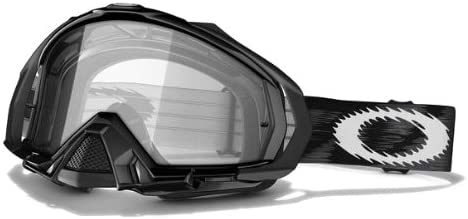 Oakley Mayhem MX Goggles with Popular Clear One Size Lens Black Jet Free shipping anywhere in the nation