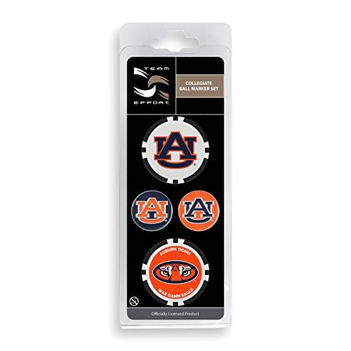 (Team Effort Auburn Tigers Ball Marker Set)