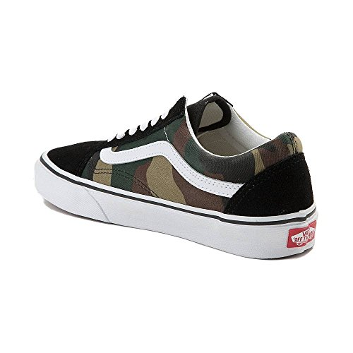 Unisex woodland De U Black Camo 7203 Vans Authentic Deporte Zapatillas woodland q7xPwX