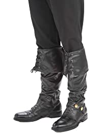 Boot Cover Pirate Costume Accessory