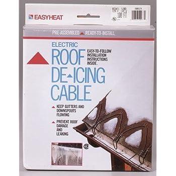 Amazon Com Easy Heat Adks 500 100 Roof Gutter Kit Home