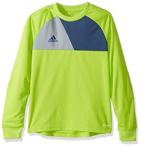 adidas Youth Soccer Assita 17 Goalkeeper Jersey, Solar Slime
