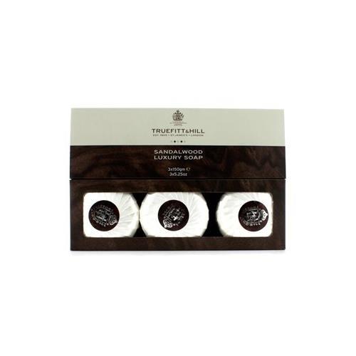 Cheap Truefitt & Hill Sandalwood Luxury Soap (Triple) 3x150g/5.25oz