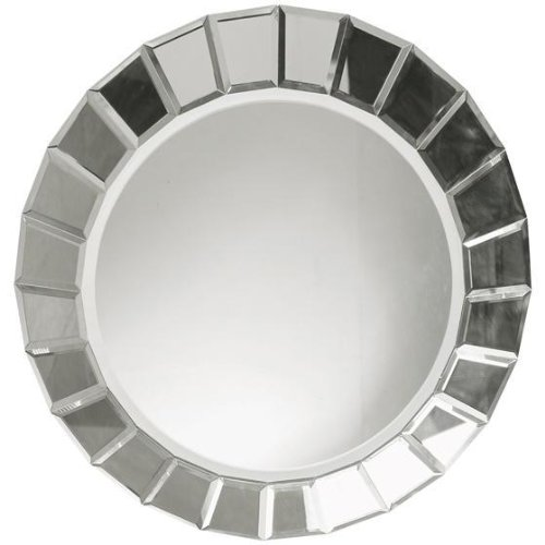 Uttermost 'Fortune' Round Mirror, Size One Size - White