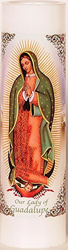 Our Lady of Guadalupe | Virgen de Guadalupe | LED Flameless